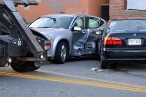 Schaden nach einem Verkehrsunfall